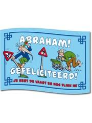 Abraham Gefeliciteerd Gevelvlag