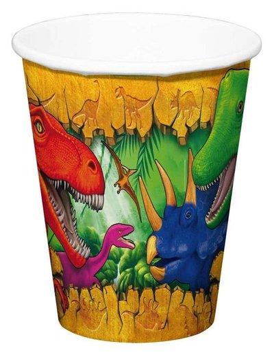 Dinosaurus Weggooi Bekers
