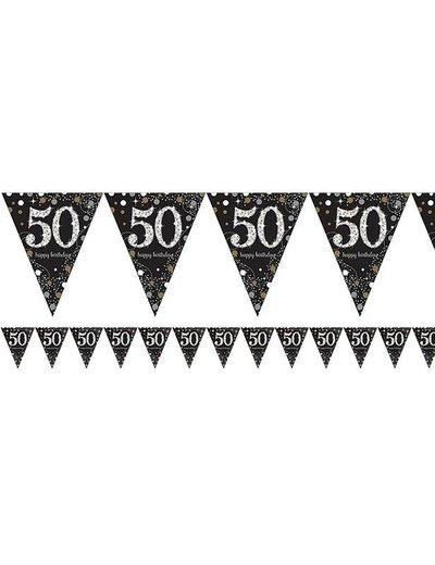 Zwart Zilver Sparkling 50 jaar vlaggenlijn
