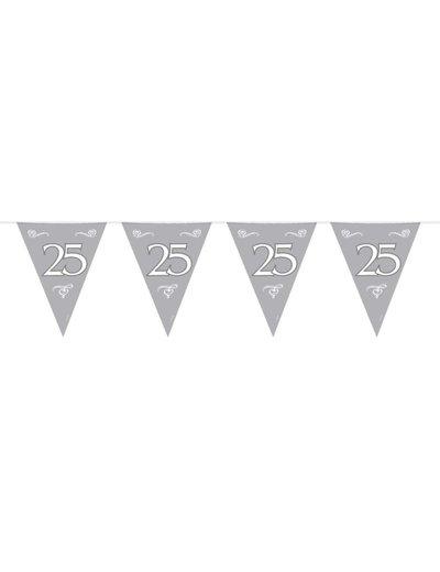 Zilveren 25 Vlaggenlijn