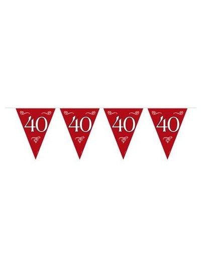 Rode 40 jaar Vlaggenlijn