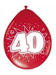 Rode 40 jaar Ballonnen