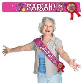 Sjerp Roze Sarah 50 jaar Sjerp