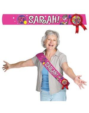 Sjerp Sjerp Knalfeest Sarah 50 jaar