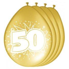 Gouden 50 Ballonnen