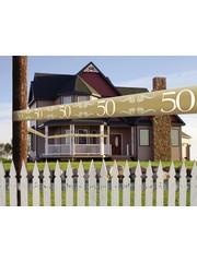 Gouden 50 jaar afzetlint