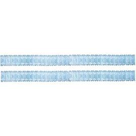 Lichtblauwe mini slingers 2 stuks