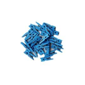 Blauwe mini knijpers 20stuks