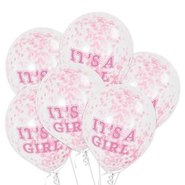 It's a girl confetti ballonnen
