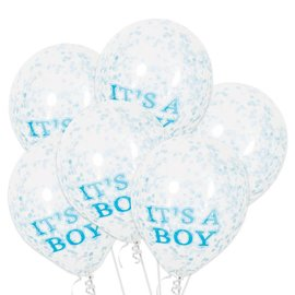 Confetti ballonnen It's a Boy