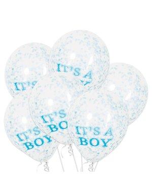 Confetti ballonnen It's a Boy