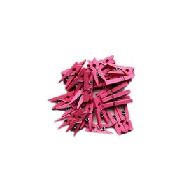 Roze mini knijpers 20stuks