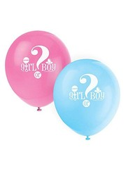 Girl or Boy gender reveal ballonnen