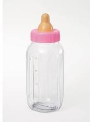 4x Roze baby shower flesjes