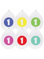 1ste verjaardag latex ballonnen
