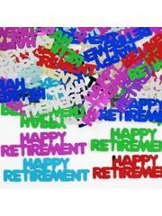 Happy retirement confetti foiletti