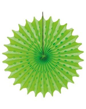 Neon groene honeycomb waaier