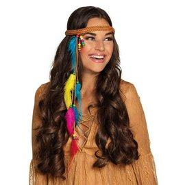 Hippie Ibiza Stijl 70's Haarband