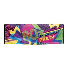80's Disco Party Straat Banner