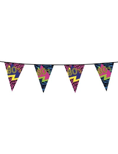 80's Disco party vlaggenlijn