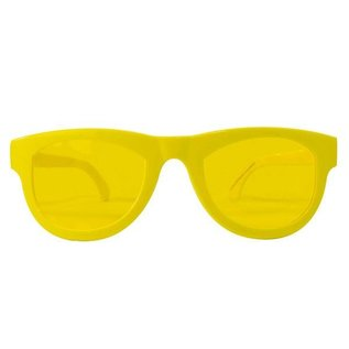 Neon Gele XXL Bril