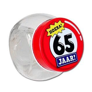 Candy Jar Snoeppotje 65 Jaar - Copy