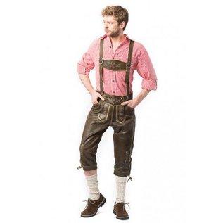 Oktoberfest lederhose kniebund Retro