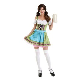Beer Sweetheart Dirndl Tiroler Jurk