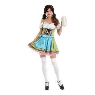 Oktoberfest Beer Sweetheart Dirndl Tiroler Jurk