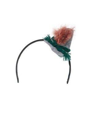 Diadeem met seppel hoed Deluxe