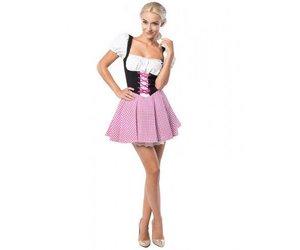 a6238c57e8a103 Dirndl Eva roze bruin Tiroler Jurkje - Feestperpost