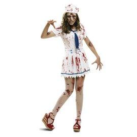 Zombie sailor zeevrouw dames kostuum