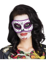 Day of the Dead Oogmasker La Violeta