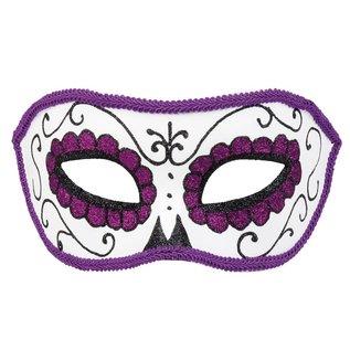 Day of the Dead Oogmasker La Violeta