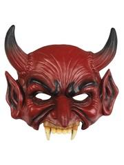 Half foam masker duivel