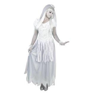 Ghost bride zombie bruid horror kostuum