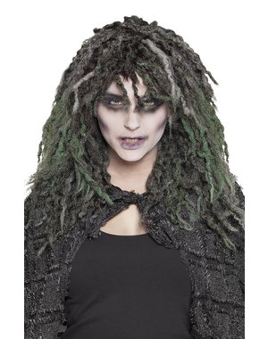 Swamp Zombie Pruik Rasta