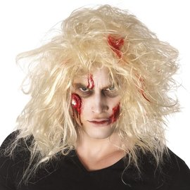 Zombie Make-up met oog schmink