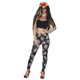Legging Day of the Dead