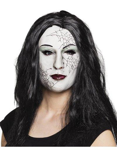 Gebroken pop Halloween masker
