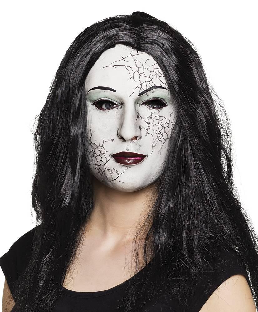 Halloween Masker.Gebroken Pop Halloween Masker Feestperpost