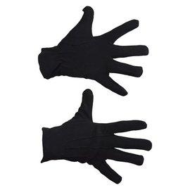 Zwarte korte luxe handschoenen