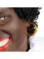 Zwarte Piet oorringen klassiek