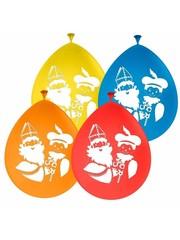 Ballonnen Sinterklaas - 8stk