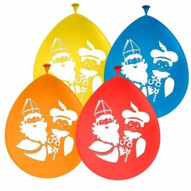 Gekleurde Sinterklaas Ballonnen