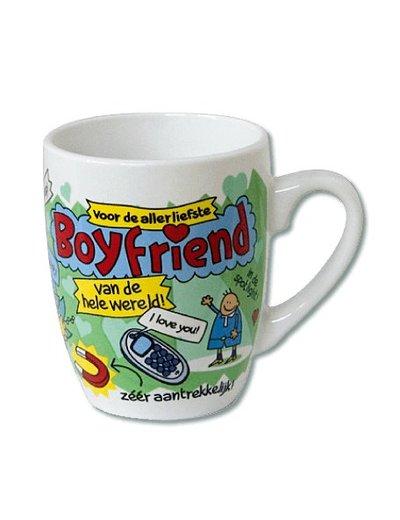 Cartoon mok liefste boyfriend
