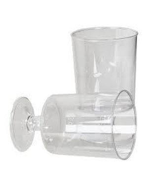 20x plastic borrelglaasjes