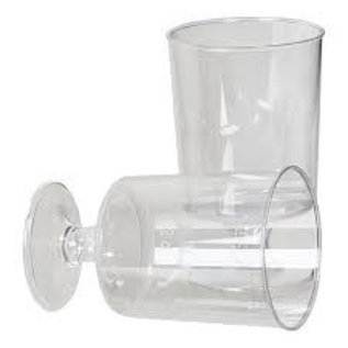 20x plastic borrelglaasjes borrelglas
