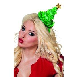 Diadeem met mini kerstboom