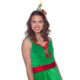 Diadeem kerstboom met cadeaus